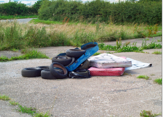 FLY-TIPPING IS A CRIME!