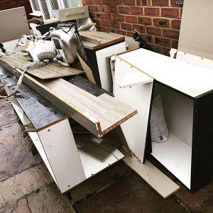 Kitchen rip out