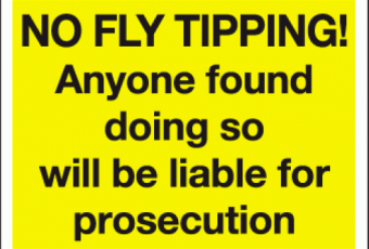 Local fly tipping